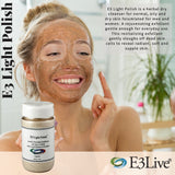E3 Light Polish Rejuvenating Exfoliant for Men and Women-Cell Regeneration, Anti-Inflamation,Scar Reduction, Anti-aging
