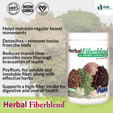 AIM Herbal Fiberblend Unflavored Powder - 3 Pack