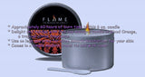 Flame Massage Oil Pourable Soy Candle with Vitamin E (6 oz)