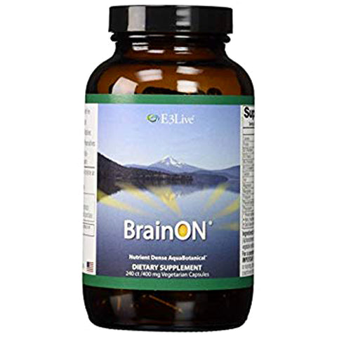 E3 BrainON (Dry) - 240 count (1 bottle)