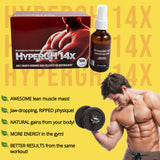 HyperGH 14x Combo - 3 boxes & 3 bottles