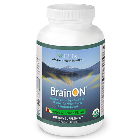 E3Live BrainOn (Flavored) - 6 bottles (16oz each)