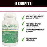 Youthful Metabolism 60 Vegetable Capsules With Zanocap Weight Loss 1 Bottle