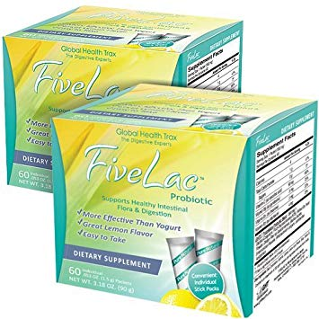 FiveLac Probiotic - 3 Pack (180 servings)