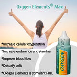 Oxygen Elements Max (3 Bottles) Dietary Supplement (1 oz. each)