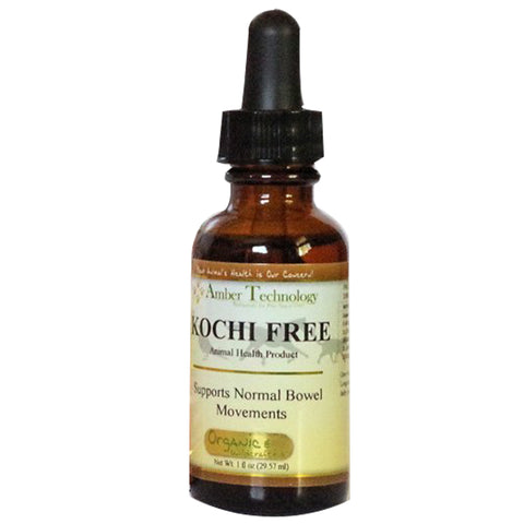 Kocci Free 4oz - All-natural Anti-parasitic For Pets; Herbal Dietary Supplement; Helps Rid The Body Of Free Radicals