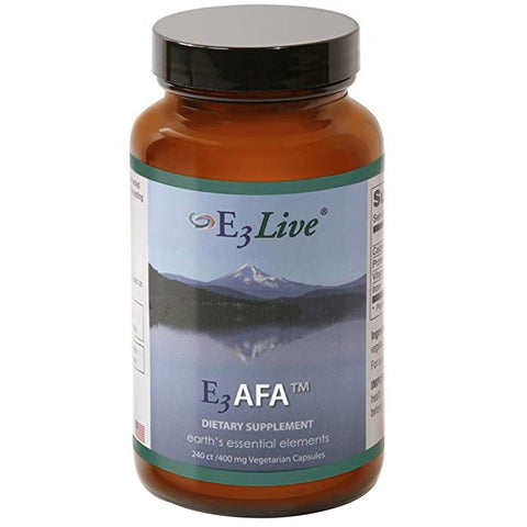 E3AFA 240ct (400mg) 1 bottle by E3Live