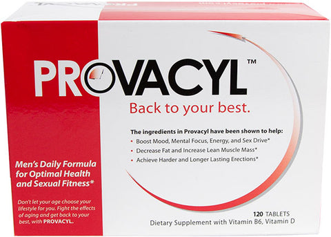Provacyl Dietary Supplement With Vitamin B6, Vitamin D - 120 Tablets