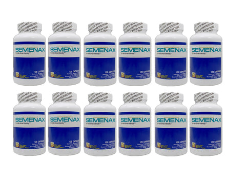 Semenax Volume and Intensity Enhancer 120ct - Year Supply: 12 Bottles