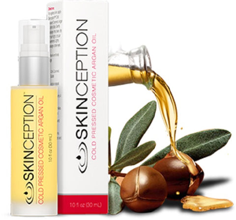 Skinception Cold Pressed Argan Oil