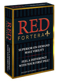 Red Fortera (6 ct) Superior On-Demand Male Virility - Fast Acting Tribulus Energy & Performance Booster