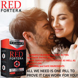 Red Fortera (4ct) - 2 Boxes Superior On-Demand Male Virility