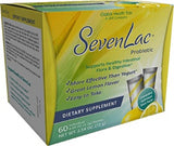 Global Health Trax Lemon SevenLac Probiotic Supports Healthy intestinal Flora & Digestion Dietary Supplement 2.54 Oz