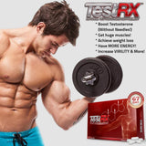 TestRX Boost Testosterone Supplement