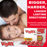 VigRx Plus - 6 Month Supply - 60 Capsules each; Oral Herbal Supplement
