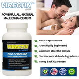 Virectin Loaded - 4 Bottles (90 Capsules each)