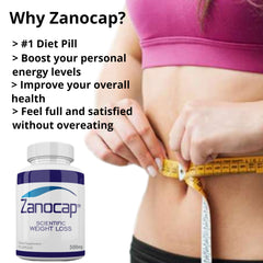 Zanocap Weight Loss Dietary Supplement (90 capsules)