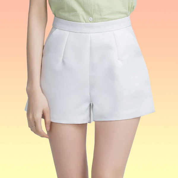 High Waisted Shorts - Very Peachy Clothing