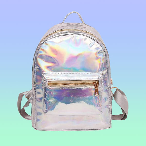 Holographic Backpack - Very Peachy Clothing