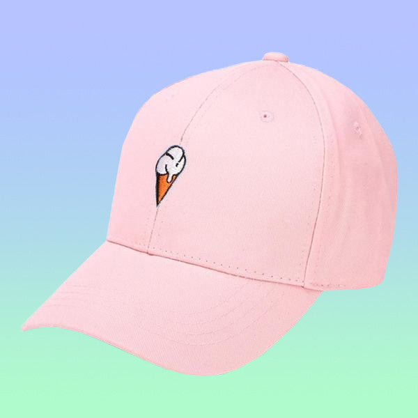 Yummy Ice Cream Baseball Cap - Very Peachy Clothing