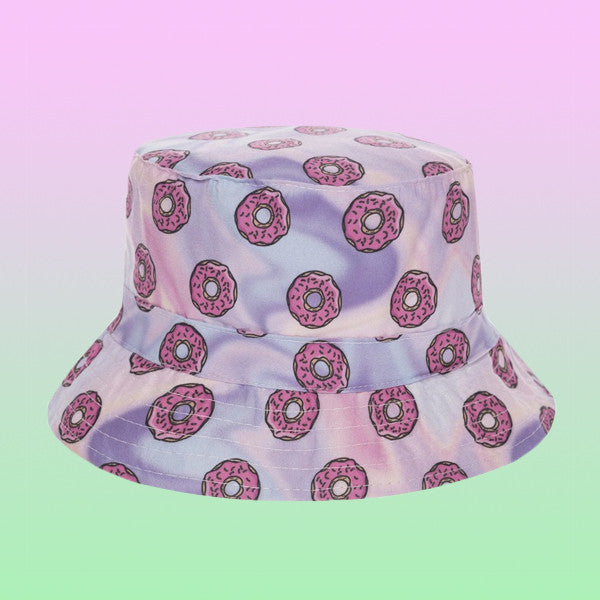 Donut Bucket Hat – Very Peachy Clothing 904077a4feb