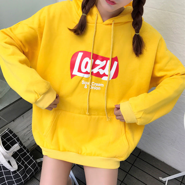 Lazy AF Hoodie Sweater - Very Peachy Clothing