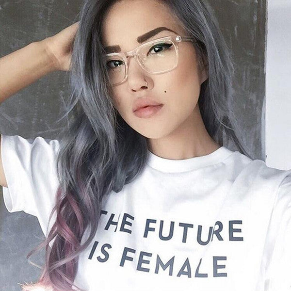 THE FUTURE IS FEMALE Tee - Very Peachy Clothing