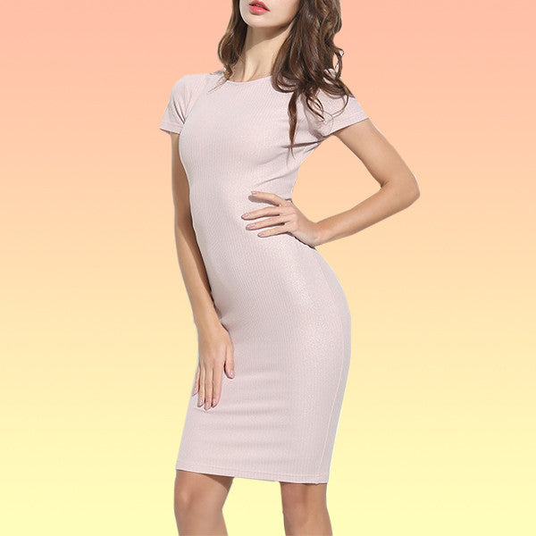Mid-Length Better than Basic Dress - Very Peachy Clothing