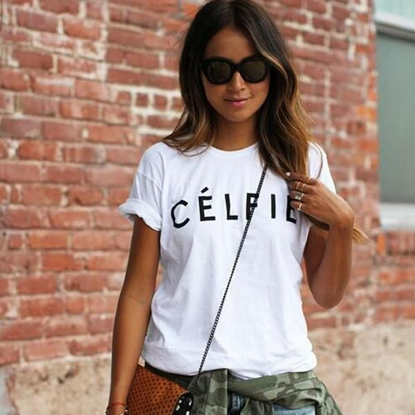 Célfie Tee - Very Peachy Clothing