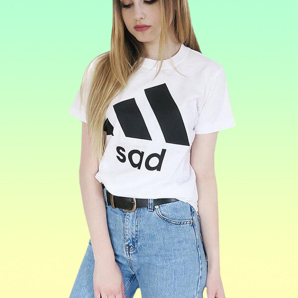 Sad Tee - Very Peachy Clothing