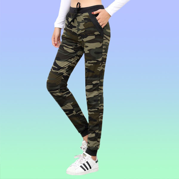 Camo Joggers - Very Peachy Clothing