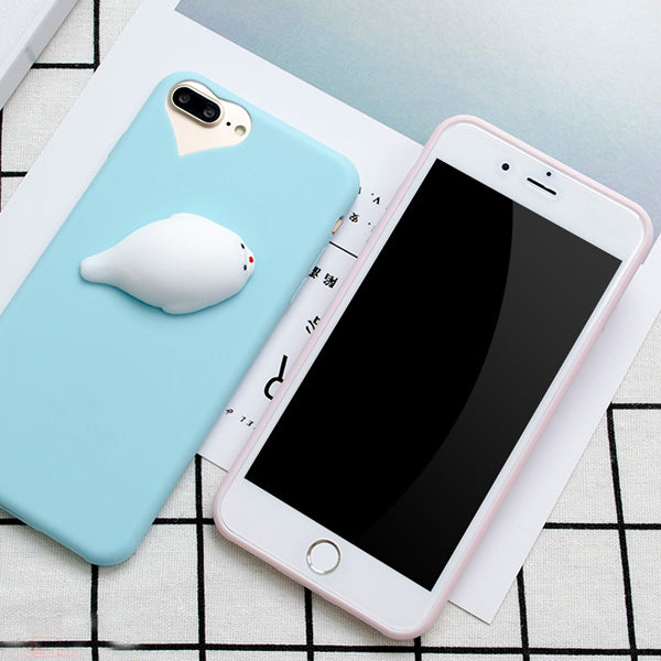 Squishy Seal iPhone Case - Very Peachy Clothing