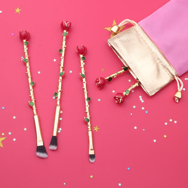 Roses Makeup Brush Set - Very Peachy Clothing