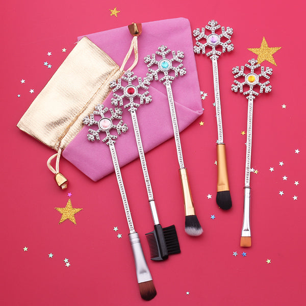 Snowflakes Brush Set - Very Peachy Clothing