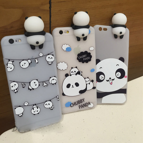 Squishy Panda iPhone case - Very Peachy Clothing