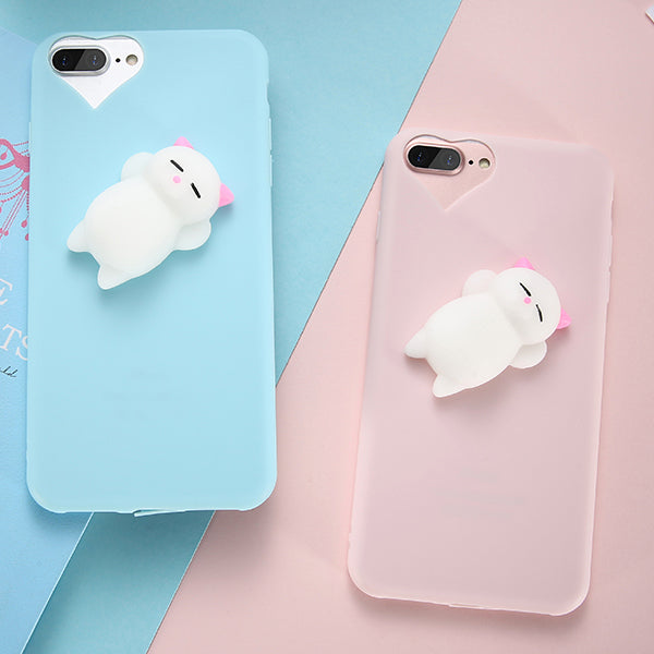 Squishy Cat iPhone case - Very Peachy Clothing