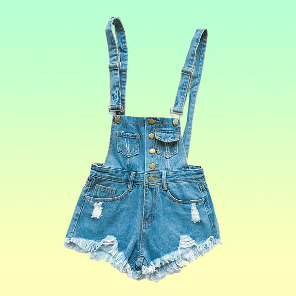 Denim overalls - Very Peachy Clothing