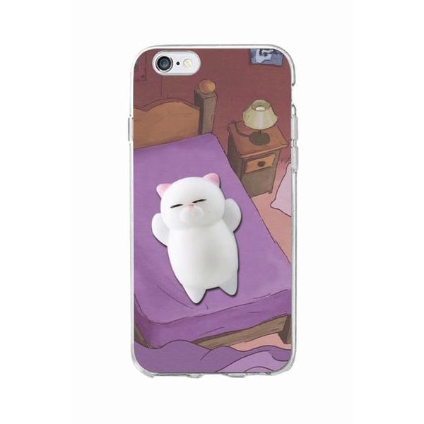 Squishy Patterned Cat iPhone Case - Very Peachy Clothing
