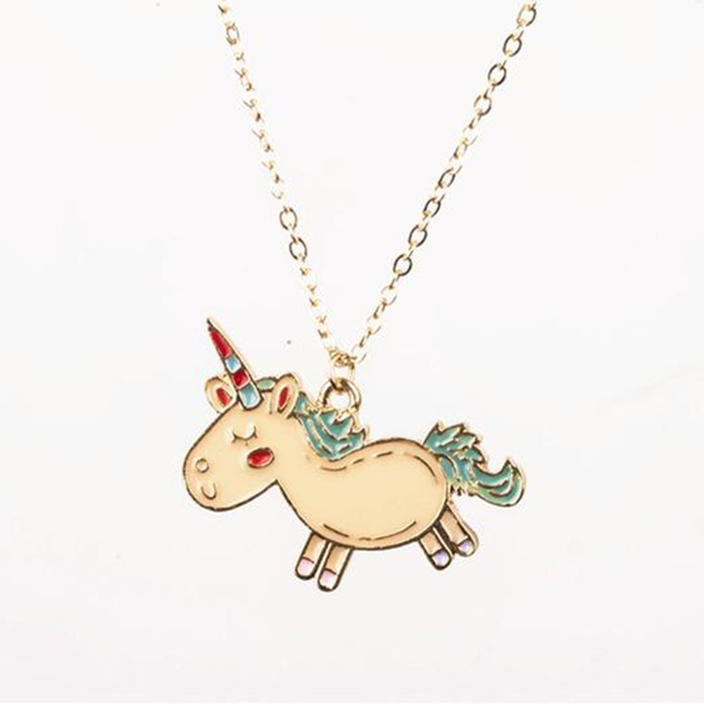 Kawaii Unicorn Necklace - Very Peachy Clothing