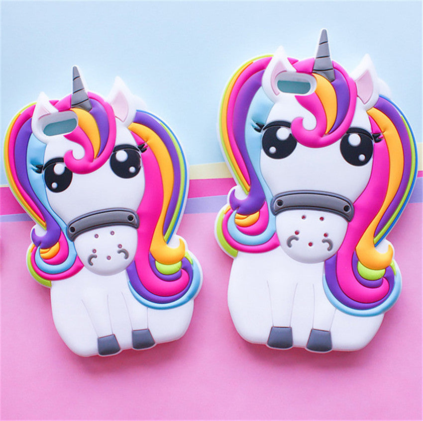 3D Rainbow Unicorn iPhone Case - Very Peachy Clothing