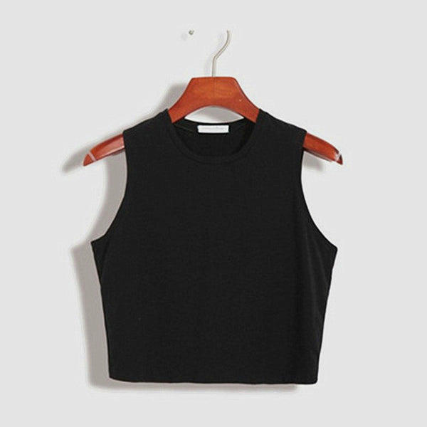 Basic Crop Top - Very Peachy Clothing