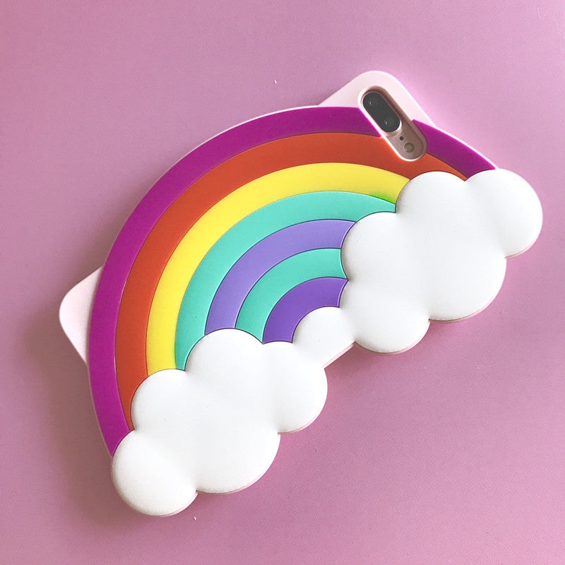 3D Rainbow iPhone Case - Very Peachy Clothing