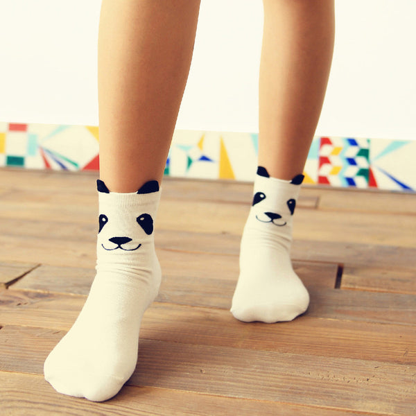 Panda 3D Socks - Very Peachy Clothing