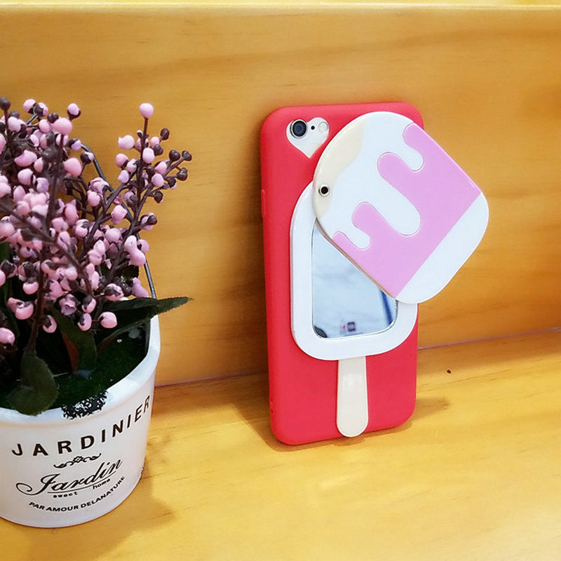 Popsicle Mirror iPhone Case - Very Peachy Clothing