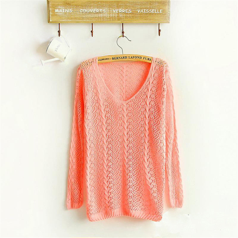 Soft Knit Pullover Sweater - Very Peachy Clothing