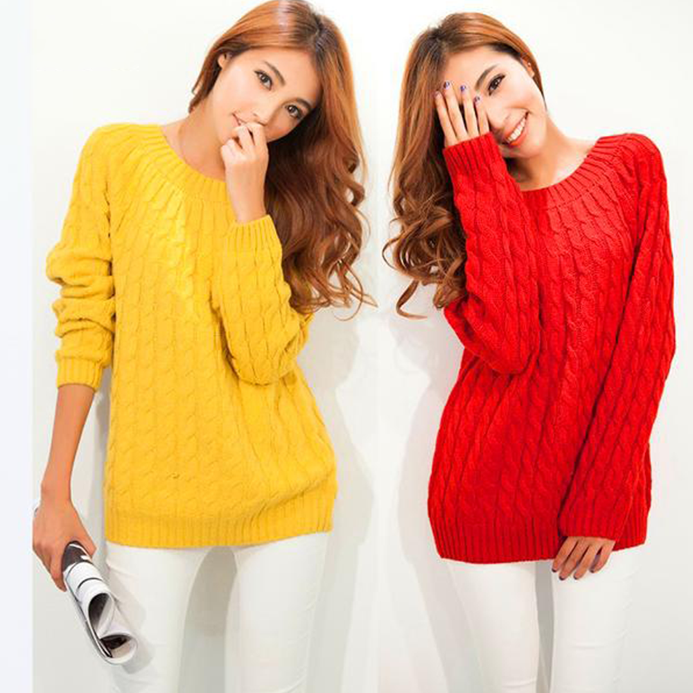 Knitted Sweater Pullover - Very Peachy Clothing