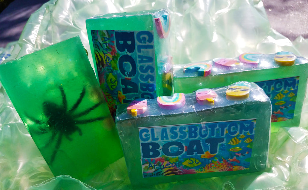 Glass Bottom Boat Artisan Soap