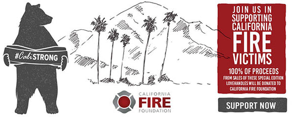 LoveHandle Releases #CaliStrong LoveHandle to Benefit California Wildfire Victims