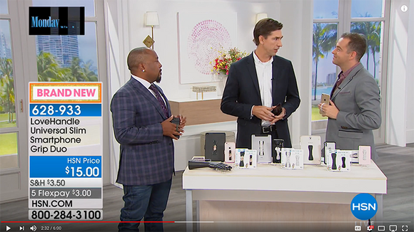 HSN's American Dreams Features LoveHandle