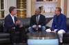 LoveHandle Creator John Murphy visits with Daymond John on HSN's American Dream